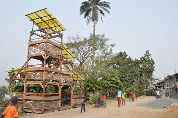 Le Jardin Sonore de Bonamouti – Restructuration
