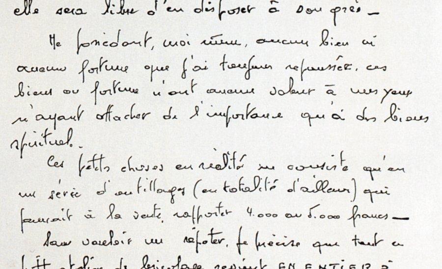 La lettre 1980