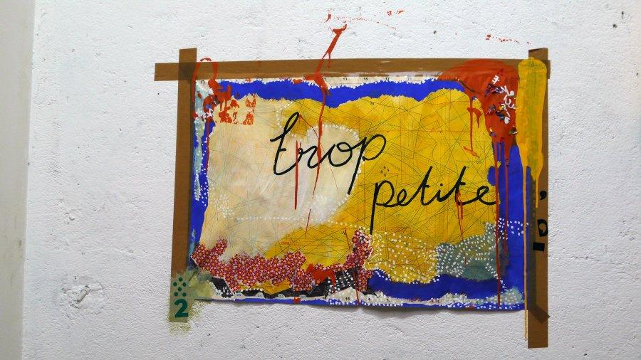 Dessins, collages, installations