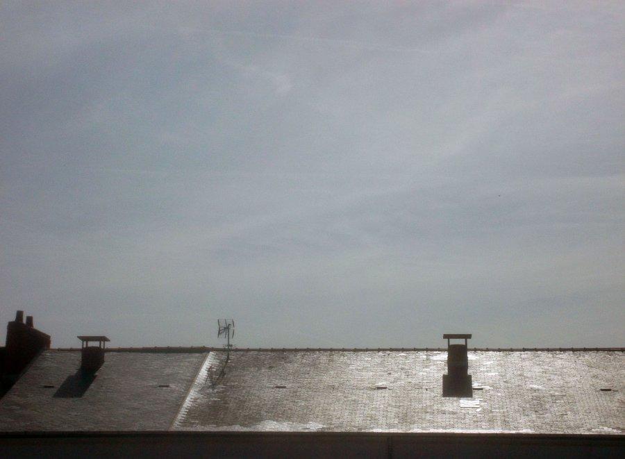 L'horizon des toits