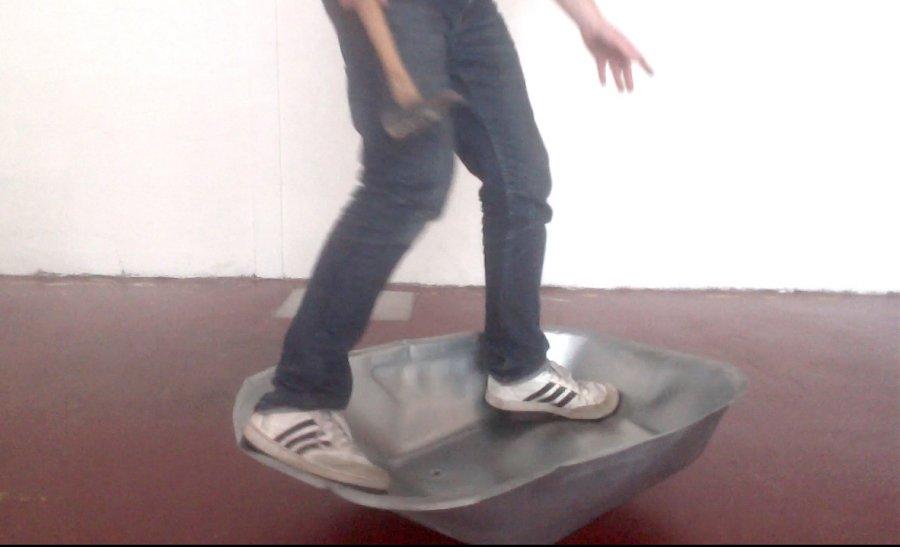 Skater brouette