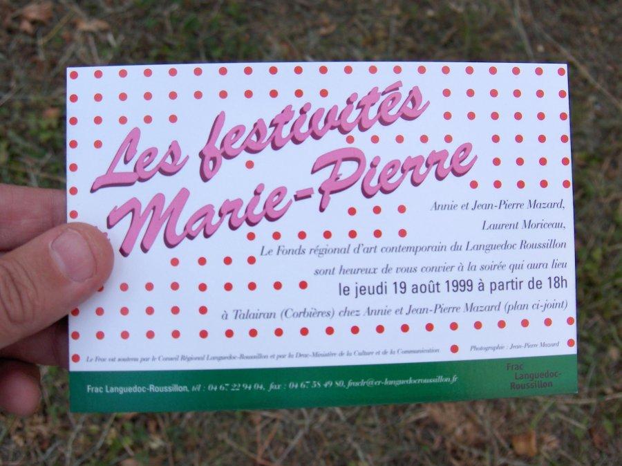 Les festivités de Marie-Pierre