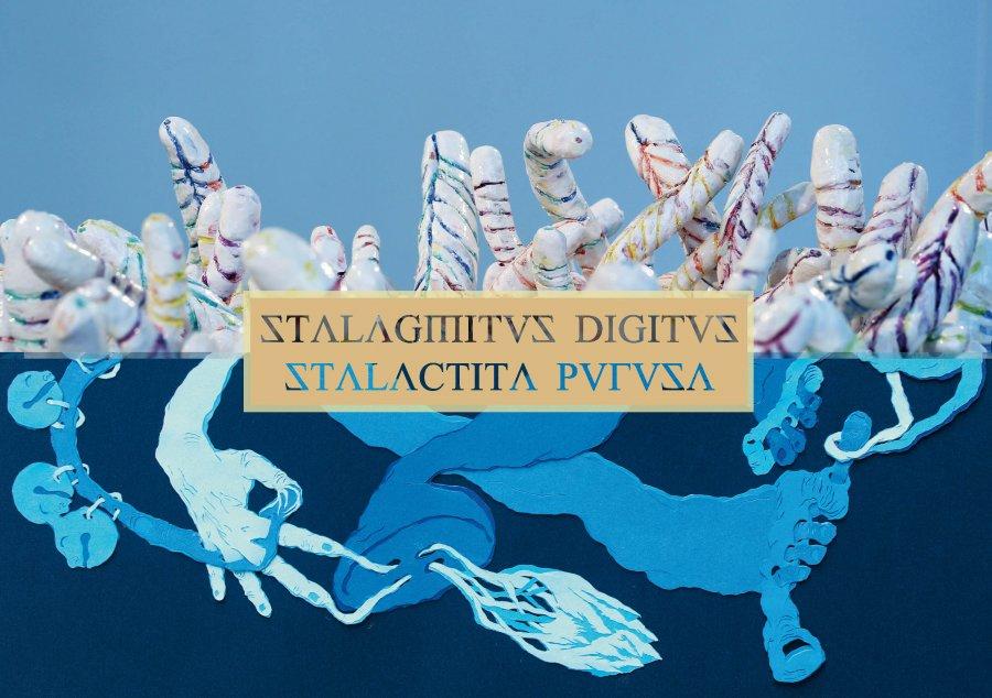 Exposition Stalagmitus Digitus Stalactita Purusa, duo show avec Cornelia Eichhorn