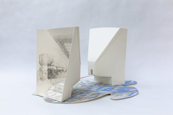 Zhu Hong/Les lignes de l'eau/Musée d'Art de Nantes